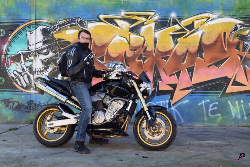 Rencontre motard cuir